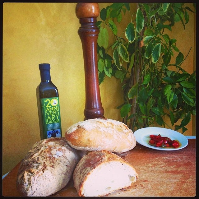 Who doesn't love homemade Italian bread?