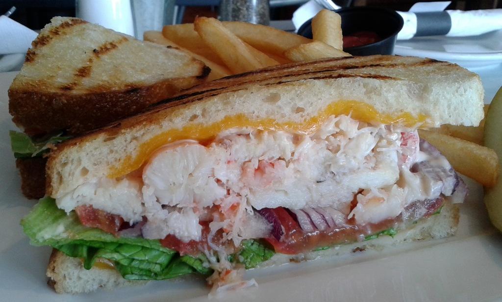 The PSC Crab sandwich